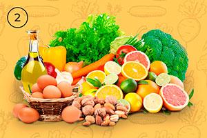 Ofrecemos también otros productos ecológicos, como huevos, fruta, frutos secos o aceite